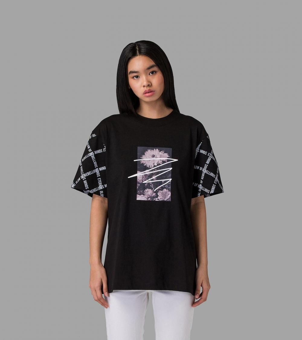 ETERNAL ART T-SHIRT - BLACK - 1