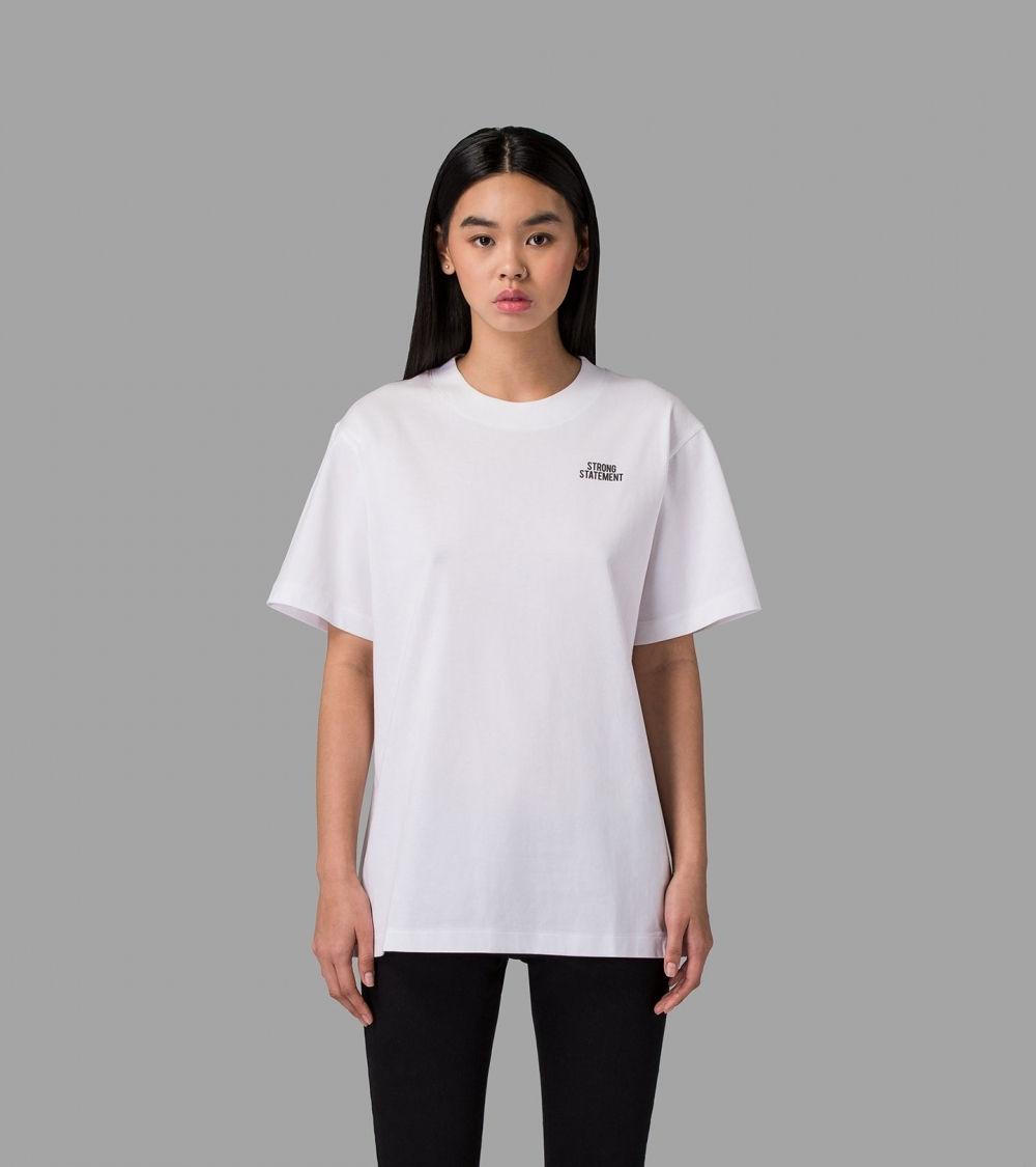 STRONG STATEMENT T-SHIRT - WHITE - 1