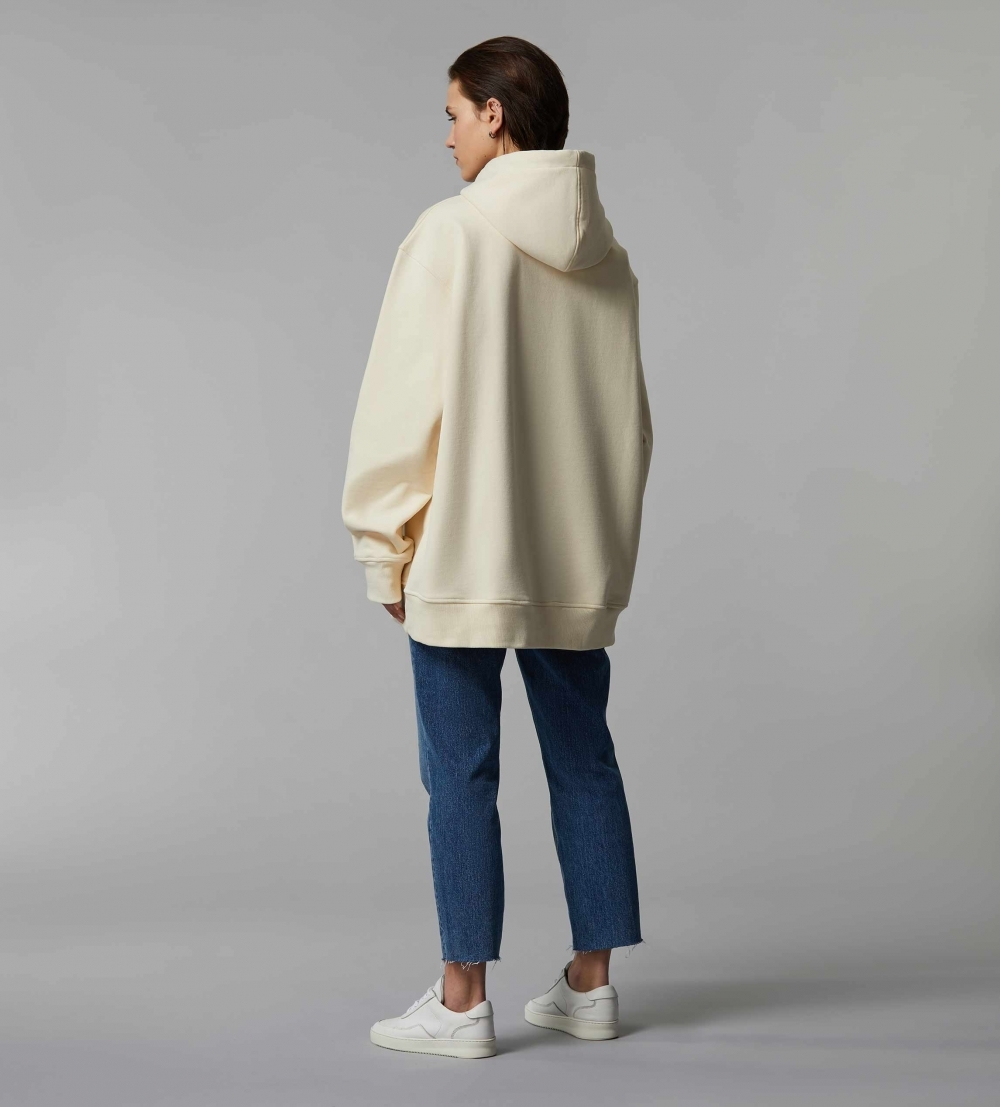 HYPERSIZED HOODIE - BUTTER - MILK - 3