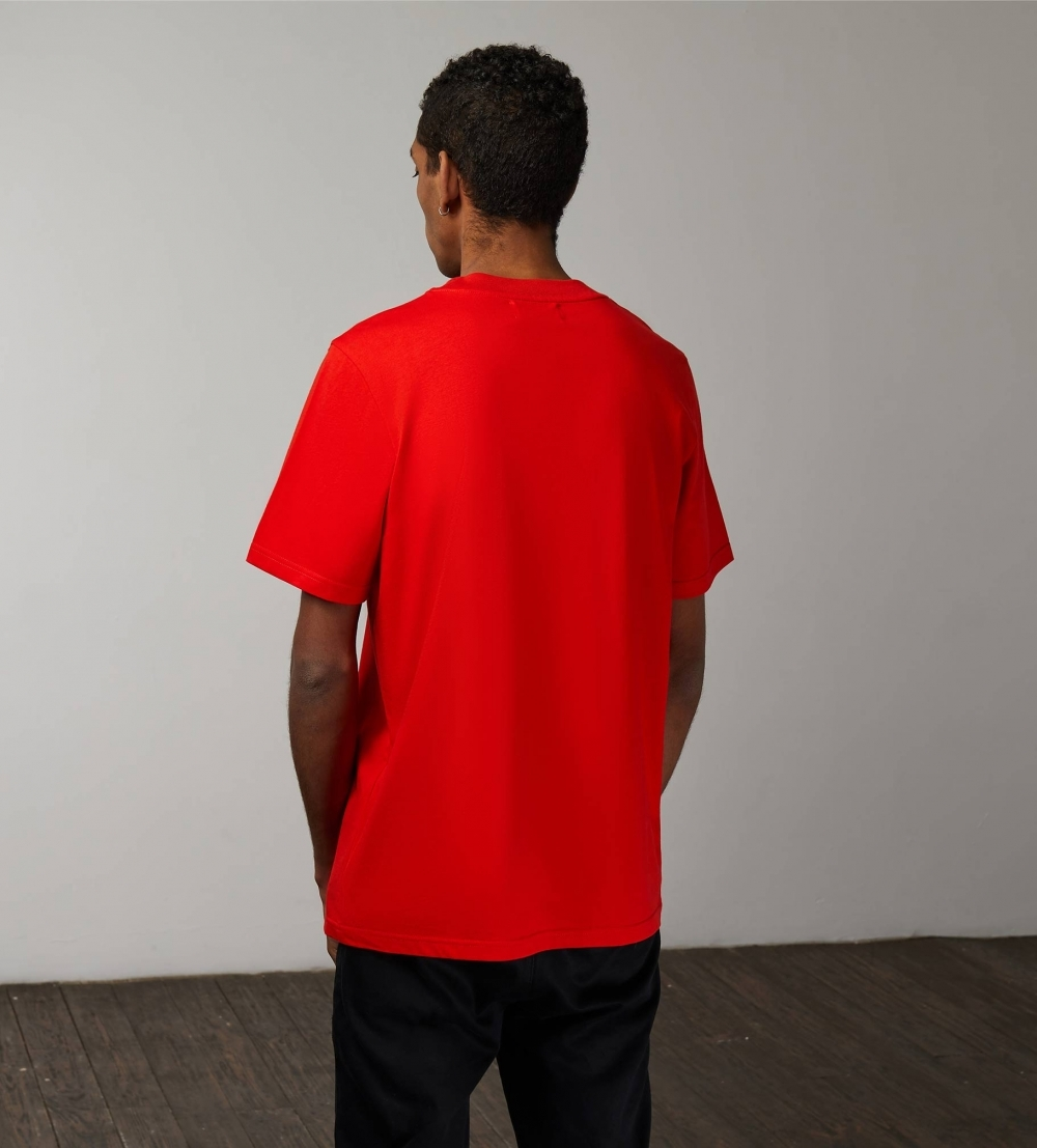 TUBE EVERYDAY T‑SHIRT (MEN) ‑ RED - 2