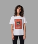 CAT POSTER T-SHIRT - WHITE - 1