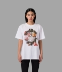 BRUSH T-SHIRT - WHITE - 1