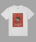 CAT POSTER T-SHIRT - WHITE - 3