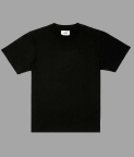 PLAIN OVERSIZED T-SHIRT (WOMEN) - BLACK - 3