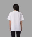 PLAIN OVERSIZED T-SHIRT (WOMEN) - WHITE - 2
