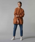 HYPERSIZED SWEATSHIRT - CLAY BROWN - 1