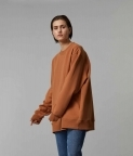 HYPERSIZED SWEATSHIRT - CLAY BROWN - 2