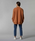 HYPERSIZED SWEATSHIRT - CLAY BROWN - 3