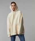 HYPERSIZED HOODIE - BUTTER - MILK - 1
